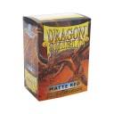 Deck Protector Dragon Shield 100 Matte Rdeči