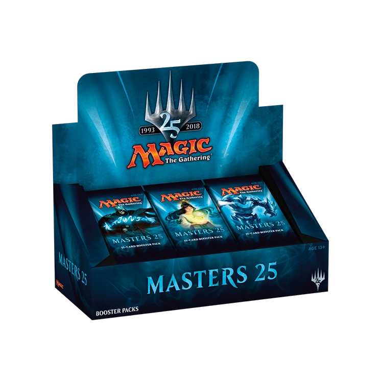 Masters 25 Box 24 Booster